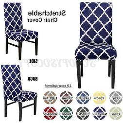 1/2/4/6 Seat Slipcovers Chair Covers Spandex Stretch Dining