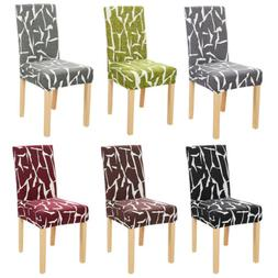 1/4/6Pc Spandex Stretch Chair Seat Cover Dining Room Wedding