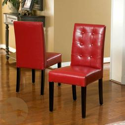 Christopher Knight Home 237696 Roland Leather Dining Chairs