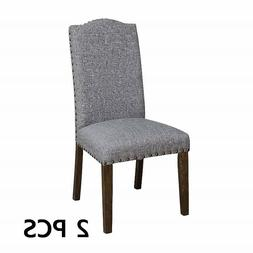 24/7 Shop at Home 247SHOPATHOME Belen Dining Chair, Grey