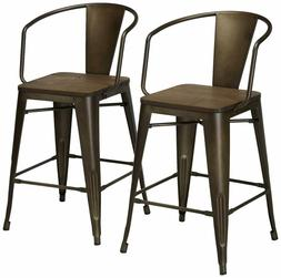 24/7 Shop at Home 247SHOPATHOME IDF-3529PC Dining-Chairs, Na