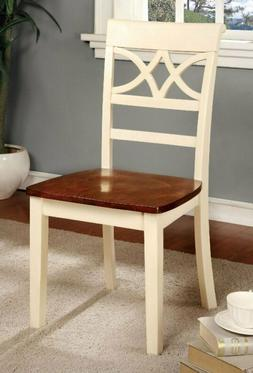 24/7 Shop at Home 247SHOPATHOME IDF-3552WC-SC Dining-Chairs,
