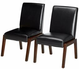 24/7 Shop at Home 247SHOPATHOME IDF-3357SC Dining-Chairs, Br