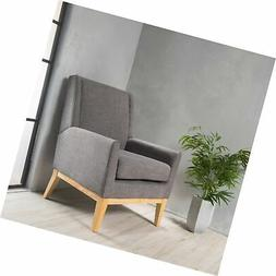 Christopher Knight Home 299400 Aural Arm Chair, Grey