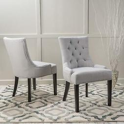 Christopher Knight Home 299538 Hayden Fabric Dining Chairs ,