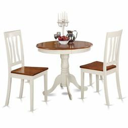 3  Pc  Kitchen  nook  Dining  set-Kitchen  Table  and  2  Ch