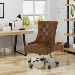 Christopher Knight Home 304966 Bagnold Desk Chair, Brown + C