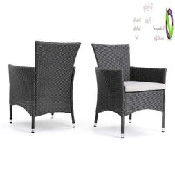 Great Deal Furniture 346205 Clementine Outdoor Wicker Dining