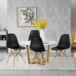 4 Pcs Mid Century Modern DSW Dining Side Chair Home Office W