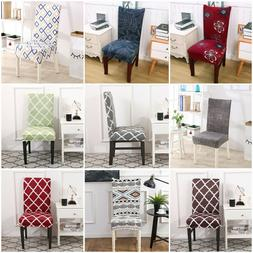 4pcs/Set Chair Cover for Dining Room Wedding Banquet Stretch
