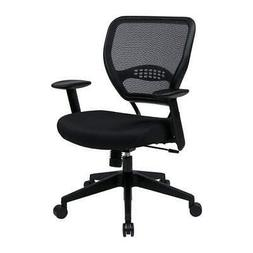 """OFFICE STAR 5500 Desk Chair Mesh, Overall Height 42"""" Seat Wi"""
