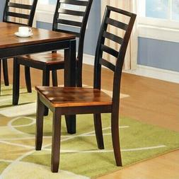 Steve Silver Abaco Wood Dining Side Chair Acacia Finish