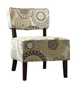 Accent Chair in Stripe
