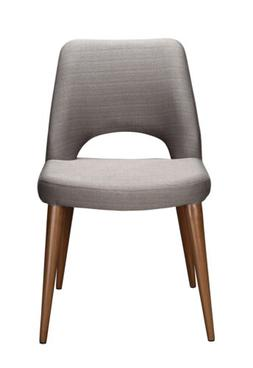 Moe's Home Collection Andre Upholstered Dining Chairs , Ligh