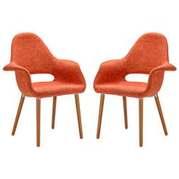 Barclay Dining Chair in Orange