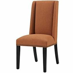 Modway Baron Upholstered Fabric Modern Tall Back Dining Pars