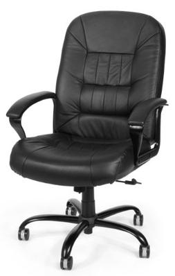 OFM Big and Tall Executive Chair - Leather Computer Chair wi