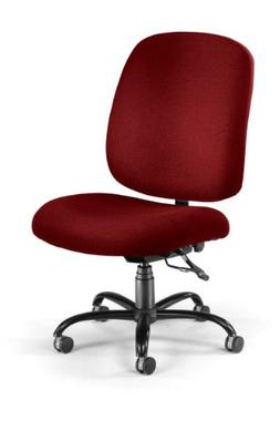 OFM Big and Tall Executive Task Chair - Armless Fabric Offic