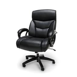Essentials Big and Tall Leather Executive Chair - High-Back