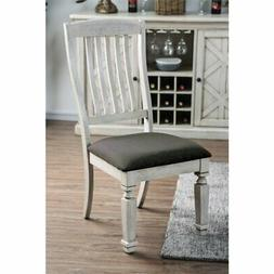 Furniture of America Cassie Dining Side Chair in White