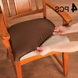 Voilamart Chair Seat Covers, Stretchable Dining Chair Cover
