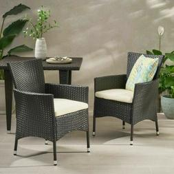 Great Deal Furniture Clementine Outdoor Multibrown PE Wicker