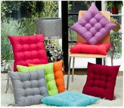 COLOURFUL SEAT PAD DINING ROOM GARDEN KITCHEN CHAIR CUSHIONS