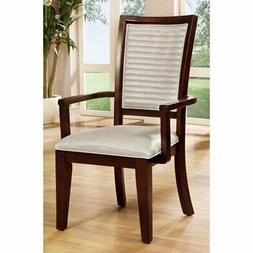 Furniture of America Colter Contemporary Dining Arm Chairs -