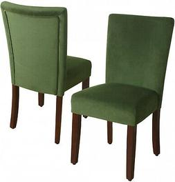 Contemporary Parson Kitchen Dining Room Chairs HomePop Velve
