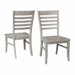 International Concepts Cosmo Dining Chair in Gray Taupe