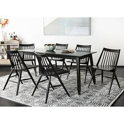 Safavieh Dining 19-inch Wren Black Spindle Dining Chair (Set