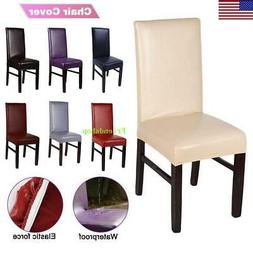 Dining Chair Covers Leather Slip Covers Wedding Banquet Deco