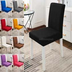 Dining Chair Covers Wedding Slipcovers 1/4/6PCS Stretch Seat