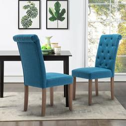 Dining Chair Set of 2 Armchair Armless Upholstered Living Ro