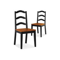 Dining Chairs Set 2 Piece Wooden Dining Room Furniture Solid