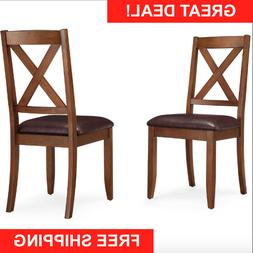 Dining Room Chairs Kitchen Table Chair Set Of 2 Farmhouse Ru