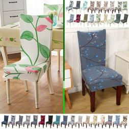 Dining Room Elastic Stretch Chair Seat Cover Décor Case Sli