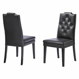 Baxton Studio Dylin Dining Chair - Set of 2
