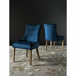 Safavieh En Vogue Dining Lester Navy Dining Chairs