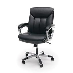 Essentials by OFM ESS-6020 Leather Executive Office Chair wi