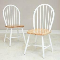farmhouse dining chairs set of 2