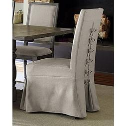 Progressive Furniture Muses Upholstered Parsons Chair with C