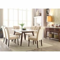 Acme Furniture Gasha 7 Piece Dining Room Set 72820
