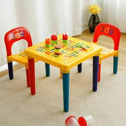 Girls Boys Table and Chair Set For Toddler Baby Gift Desk Fu
