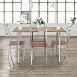 Goplus 5 Pieces Dining Table Set