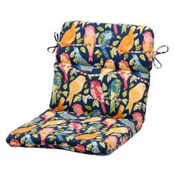 Pillow Perfect Indoor/Outdoor Ash Hill Rounded Chair Cushion