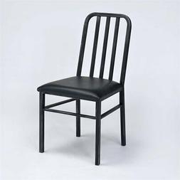 ACME Furniture Jodie Side Chair in Black and Antique Black