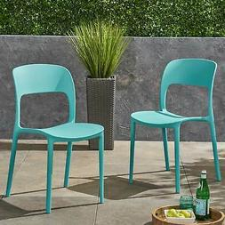 Katherina Outdoor Plastic Chairs  by Christopher