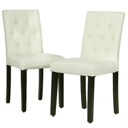 Kitchen Room Dining Chairs Armless Chair Accent Solid Wood M