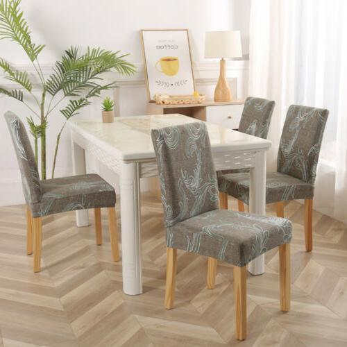 1/4/6pcs Dining Chair Slipcovers Home